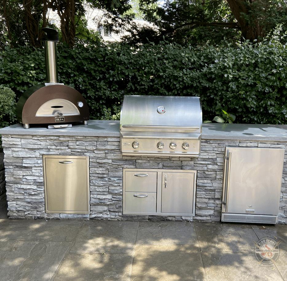 outdoor kitchen ideas blaze pro alfa
