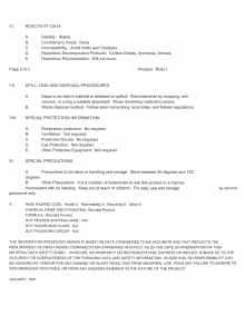 ROG 1 MSDS page 2