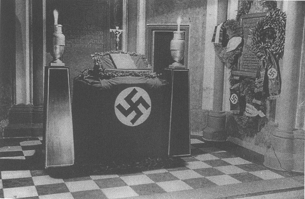 Altar of the Antoniterkirche in Cologne, Germany , 1935