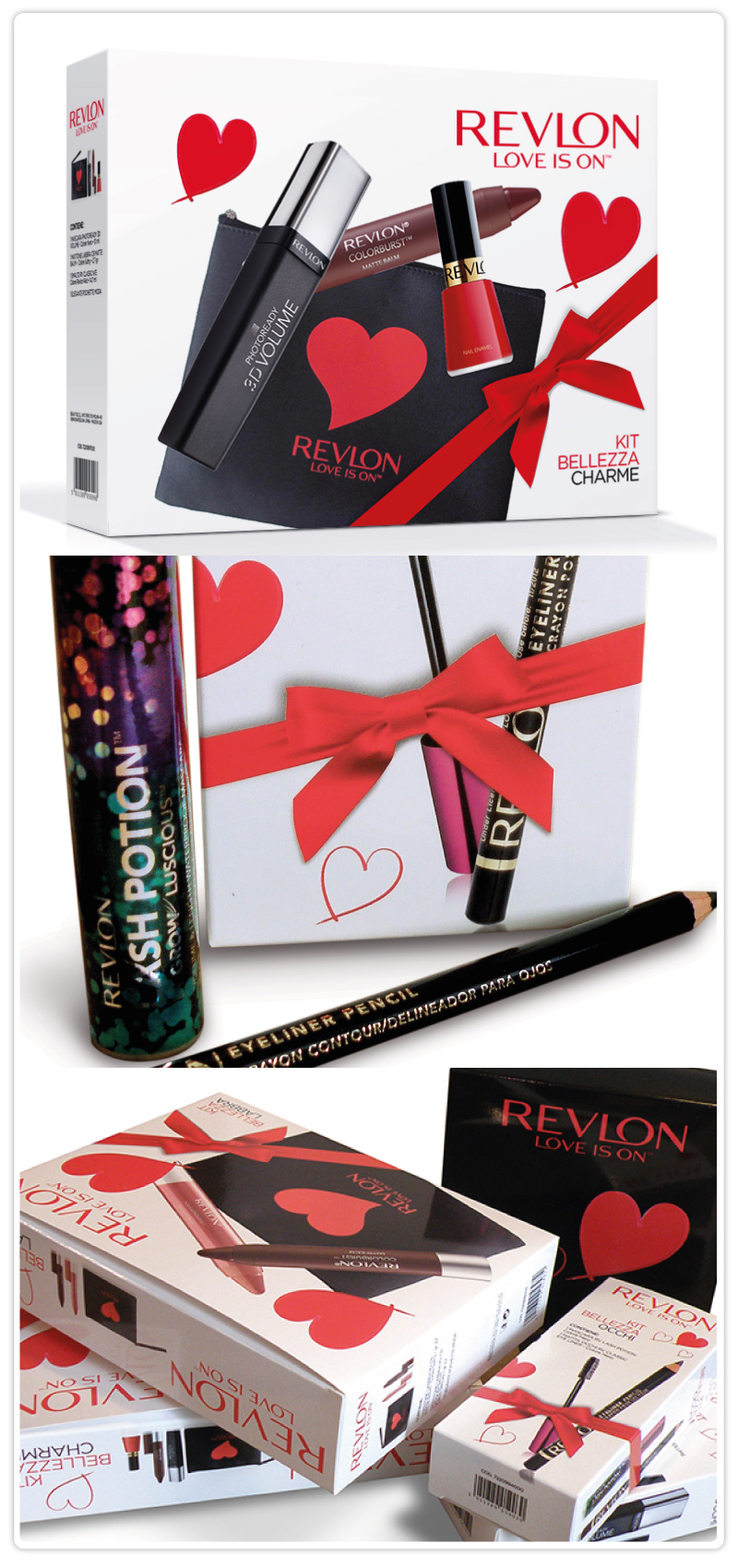 Revlon packaging