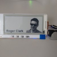 TTGO T5 2.9inch e-Ink display with ESP32 MCU