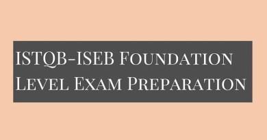 ISTQB-ISEB Foundation Level Exam Preparation