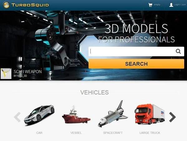 Turbo Squid | archive3d.net