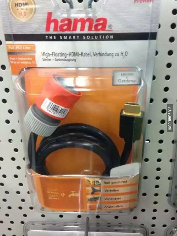HDMI to H2O