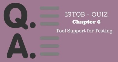 ISTQB - QUIZ - Chapter 6 - Tool Support for Testing