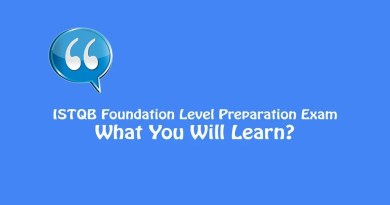 ISTQB Foundation Level Exam - What You Will Learn