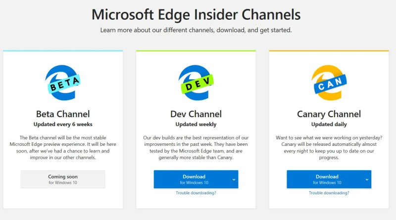 Edge Chromium Test and Feedback Azure DevOps