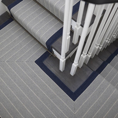 Products Runners For Stairs And Halls Blue Dart Midnight   Roger Oates Stair Runners   Wooden   Wood Staircase Carpet   Corner   Pinterest   Carpet