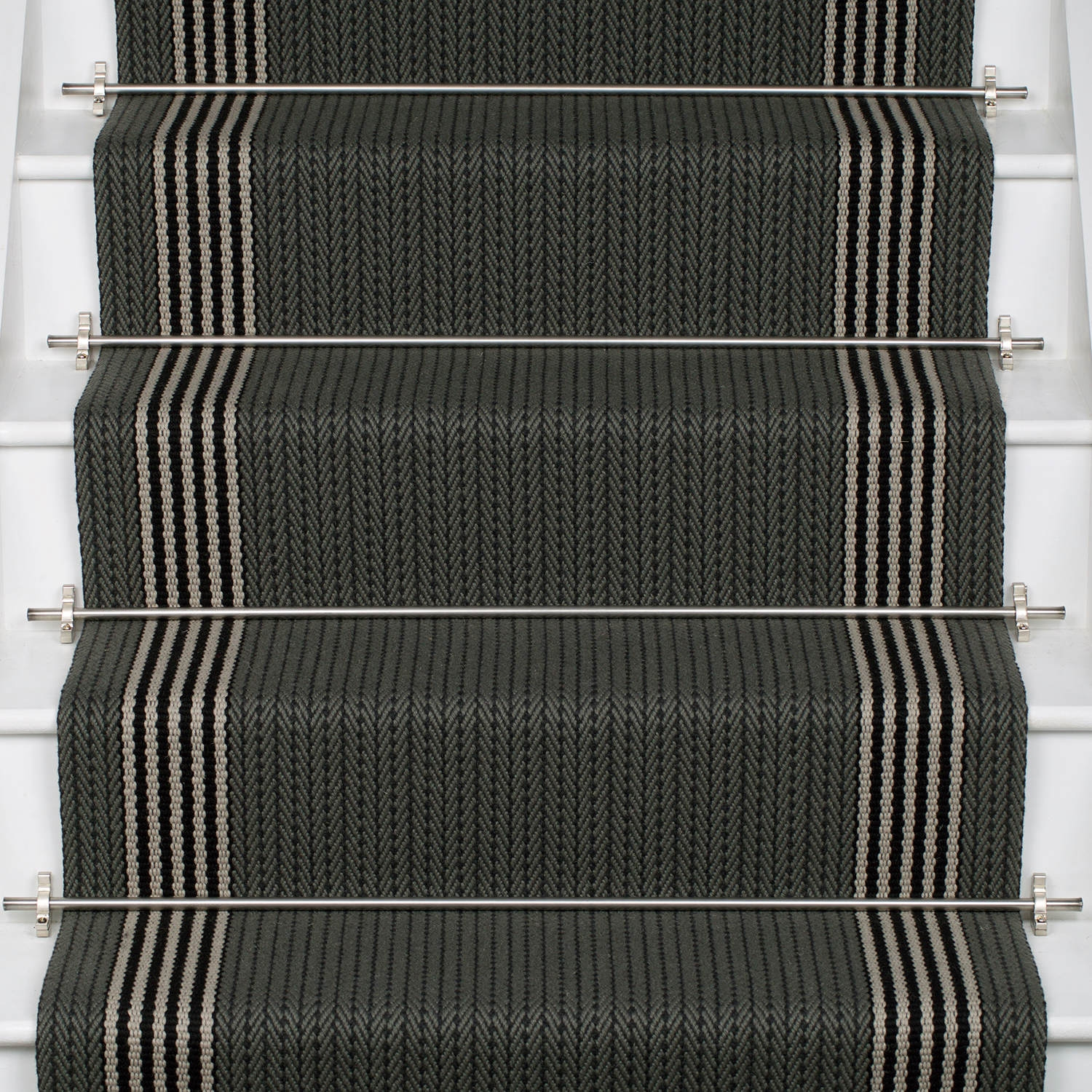 Products Runners For Stairs And Halls Neutral Flaxman | Roger Oates Stair Runners | Middle | Hallway | Art Deco | Corner | Victorian