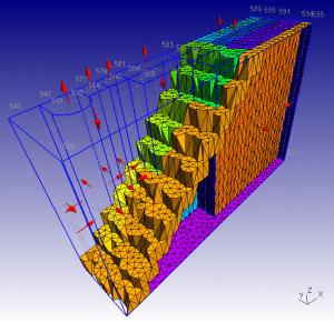 Gmsh: a three-dimensional finite element mesh generator