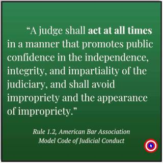 judge shall act