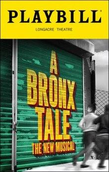A Bronx Tale.playbill