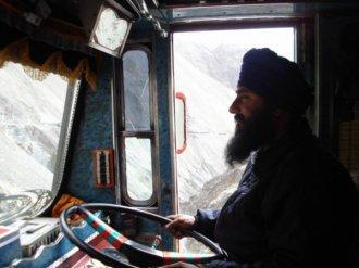 Sikh-Truckdriver