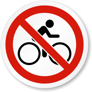 no-bike-riding