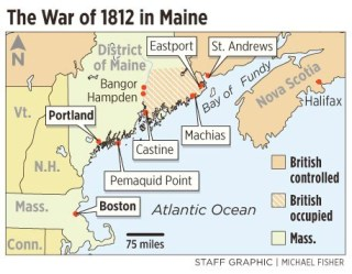 Maine.War Of 1812
