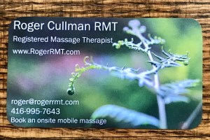 business card, Roger,RMT