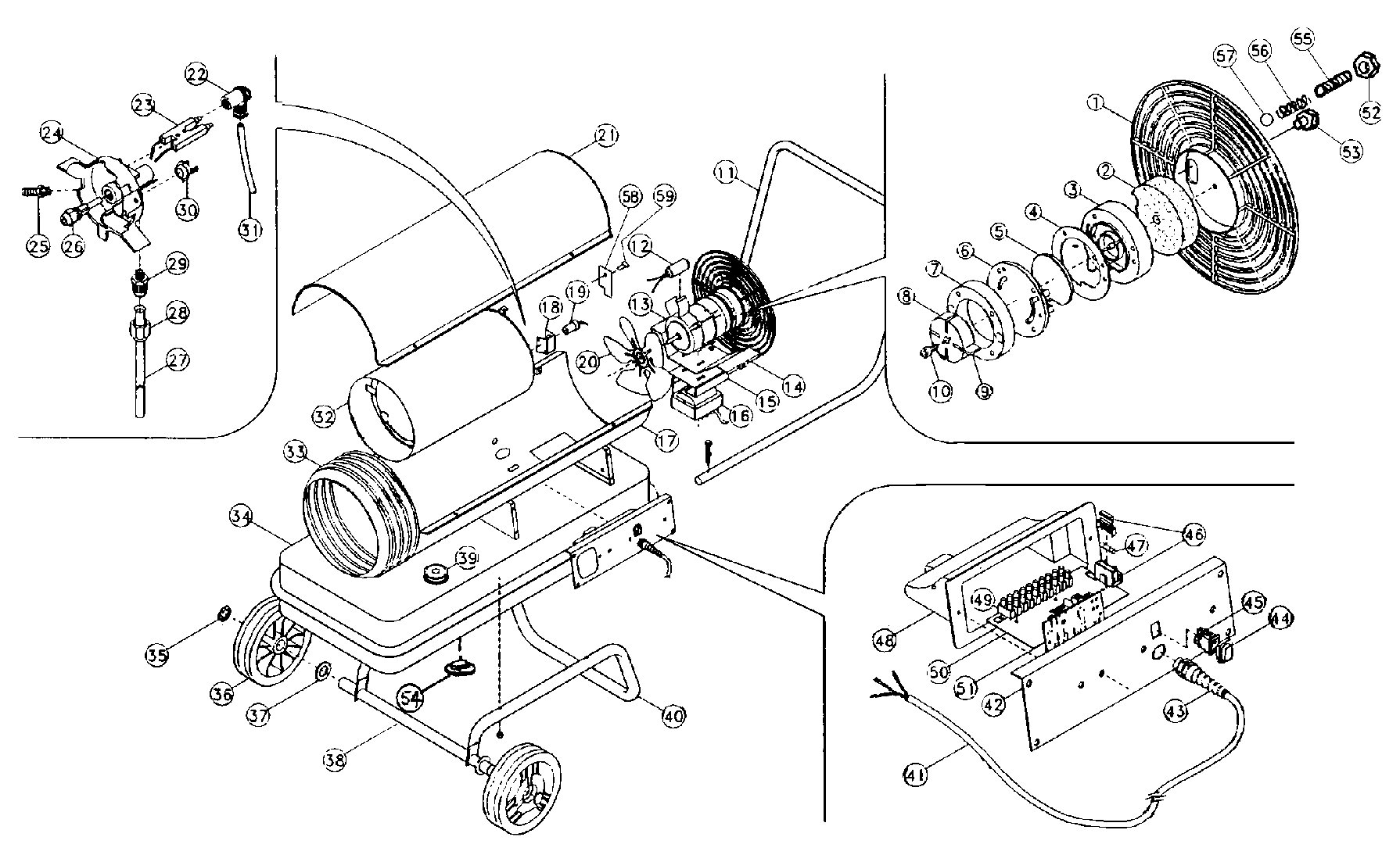 Clarke Xr75 Exploded View