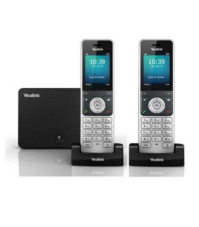 DECT van Yealink W60P met twee handsets