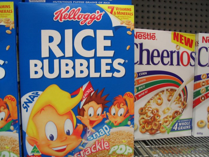 Oh yeah, they have Cheerios here too, but its terrible