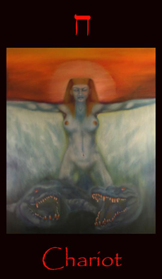 Tarot Key Chariot, Tarot of the Morning Star  Symbolism and