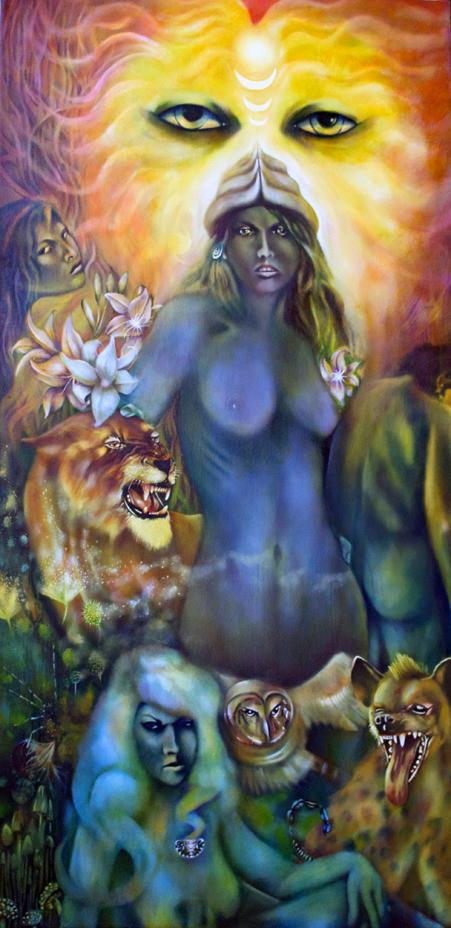 Ishtar painting, Istar