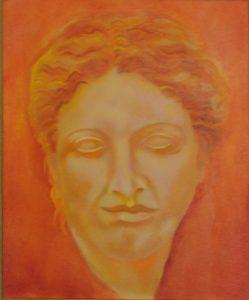 Goddess Hygeia, ancient Greek goddes