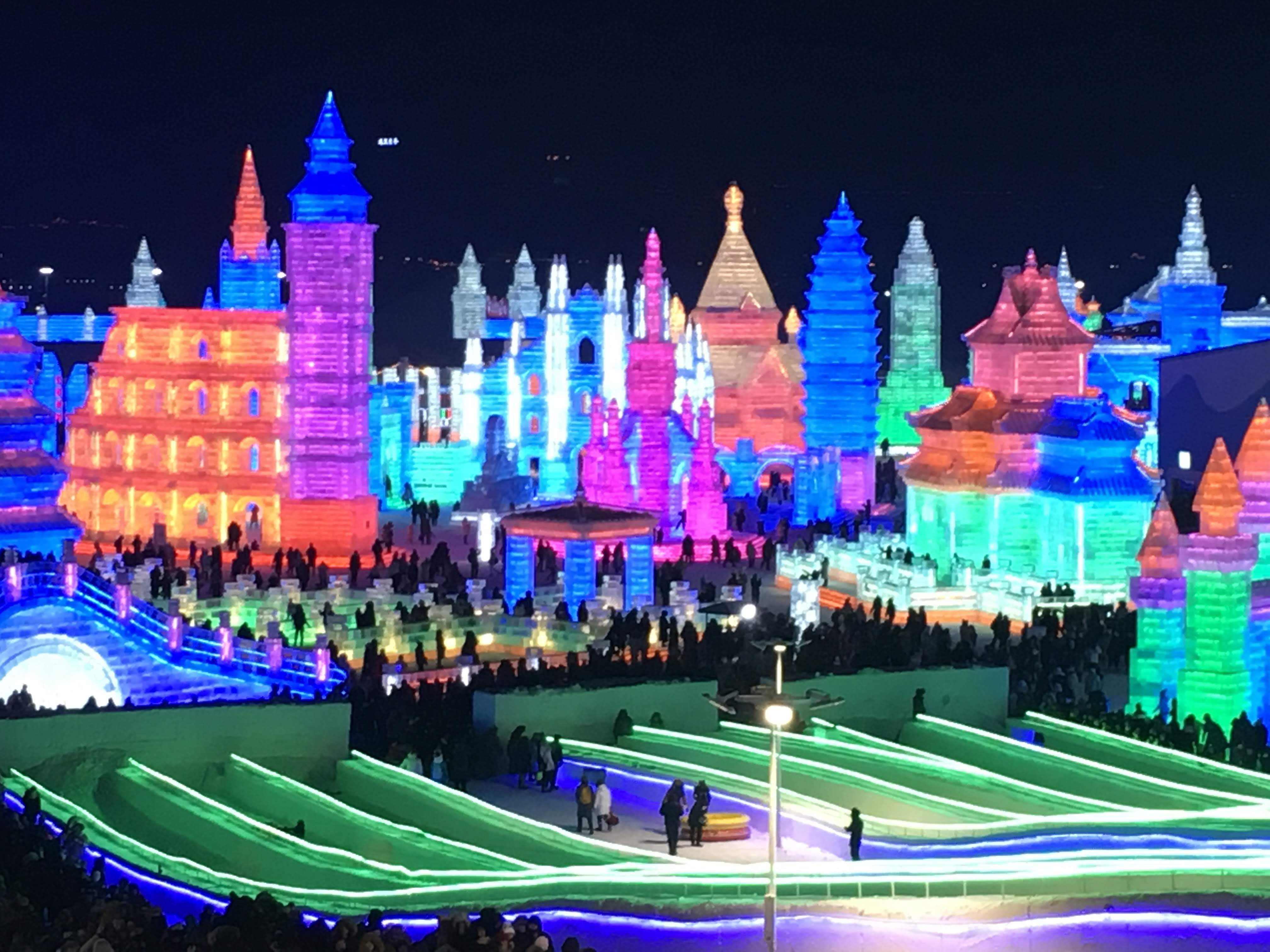 China Harbin Ice and Snow World | Roger Wing