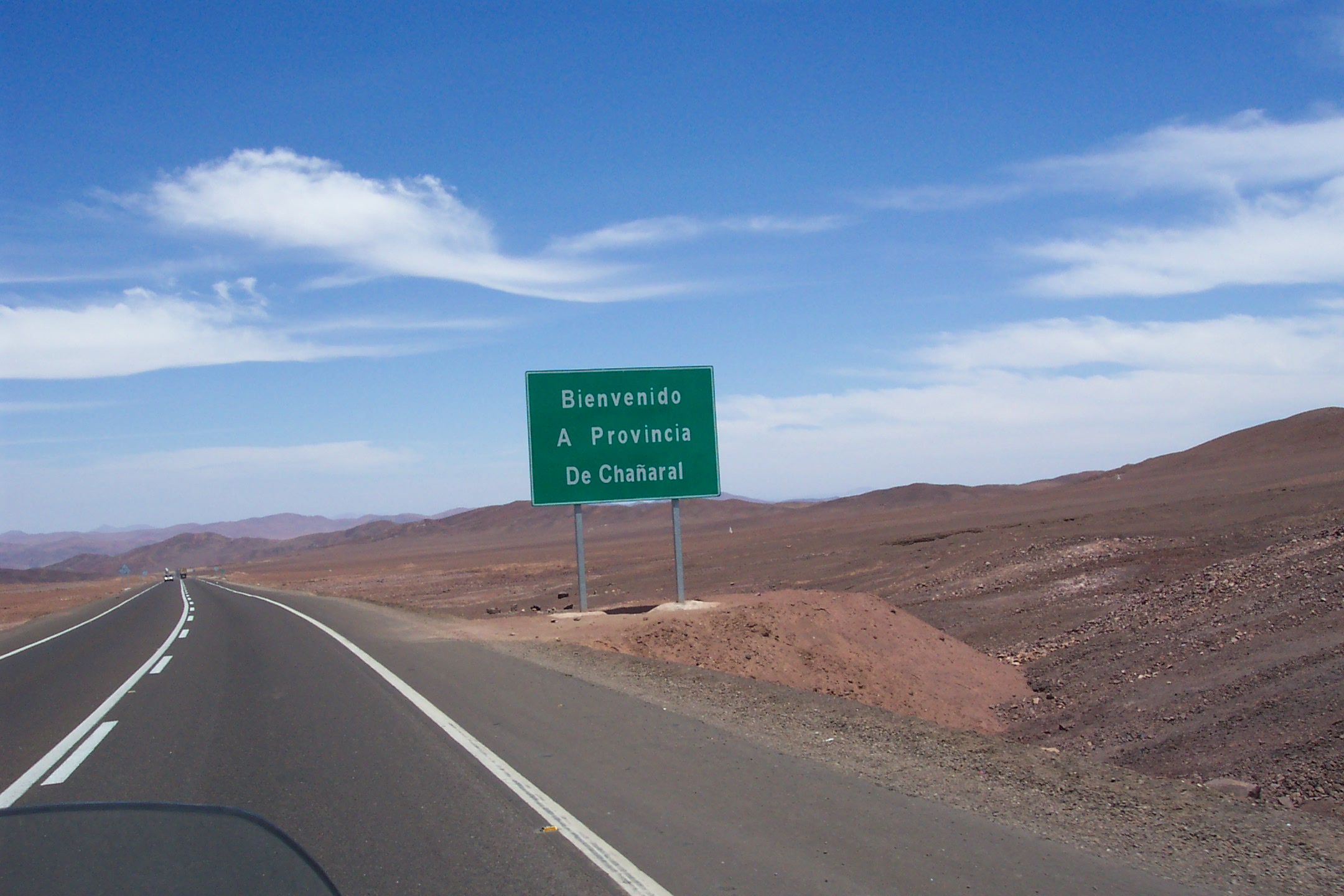 Antofagasta To Copiap 243 Chile