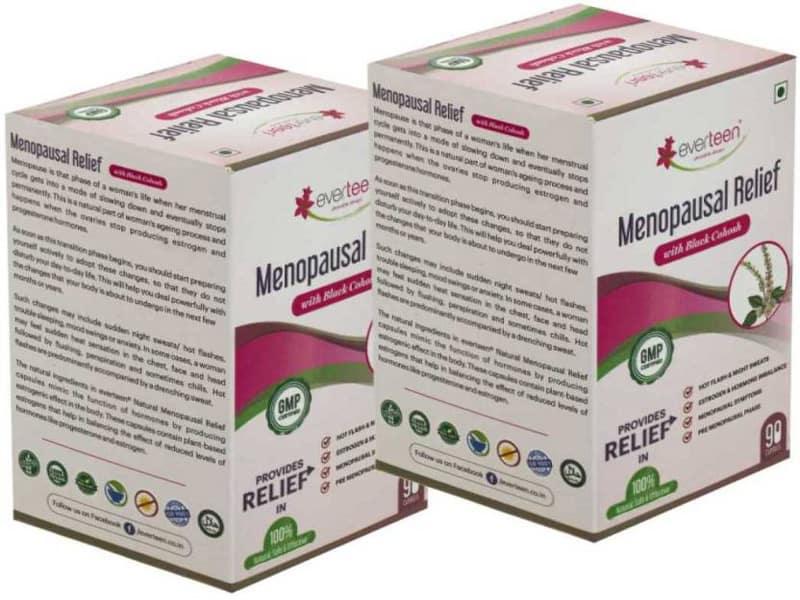 एवरटीन रजोनिवृत्ति राहत कैप्सूल के लाभकारी फायदे - Everteen Menopause Relief Capsules In Hindi