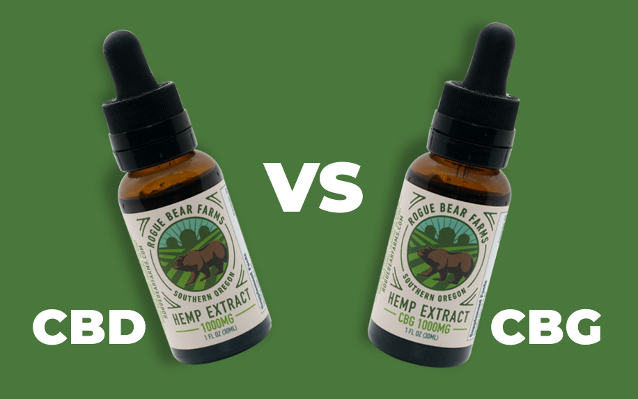 CBD vs CBG - What is the difference?