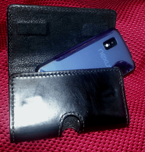 Smartphone holster-open