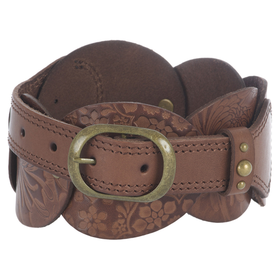 Hers Tetra Leather Belt - £24.99