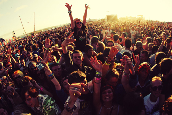 Rogue Mag Music and Festivals Relentless Boardmasters Crowd