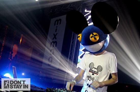 Rogue Mag Music deadmau5 @ Cream Ibiza – Pic by Charlie Raven
