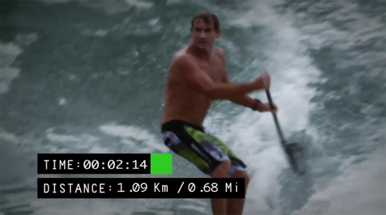 Rogue Mag Surf and Video Robby Naish finding worlds longest wave Red Bull