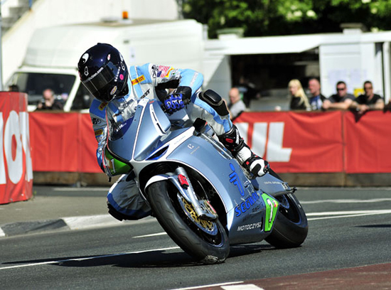 Rogue Mag Motorsport Isle of Man TT Zero