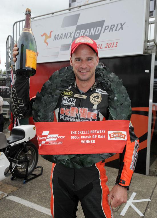 Rogue Mag Motorsport Triumphant return to Manx Grand Prix for Ryan Farquhar