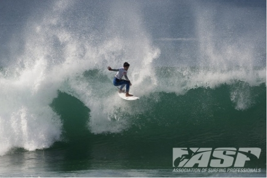 Rogue Mag Surf Lay day called for Quiksilver Pro France, projected improvement for tomorrow