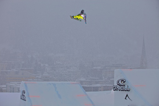 Rogue Mag Snow - O'Neill Evolution 2012 Davos Big Air Men Heat 1 Quali
