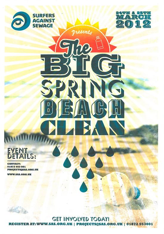 Rogue Mag Surf - SAS Big Spring Beach Clean 2012