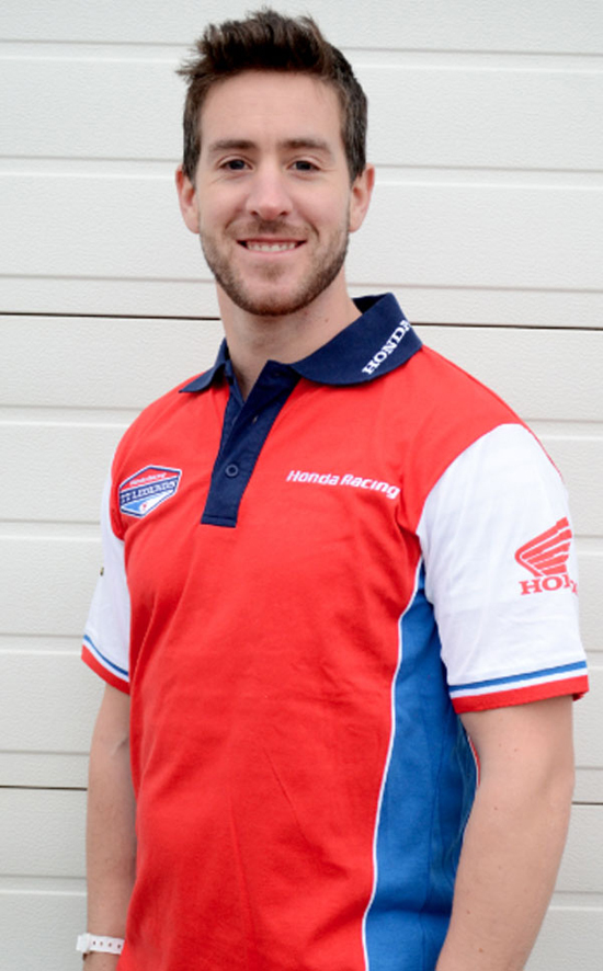 Rogue Mag Motorsport - Simon Andrews teams up with John McGuinness for Honda TT Legends team