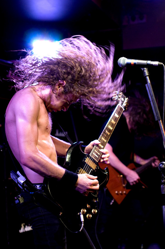 Rogue Mag Music - Joel OKeefe, Airbourne