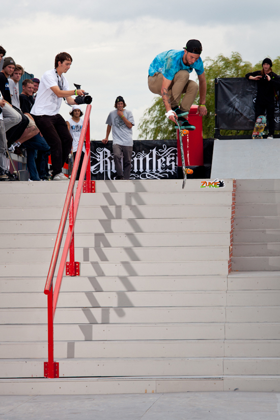 Rogue Mag Skate - Relentless Energy Drink Street Spots return to Relentless Energy Drink NASS 2012
