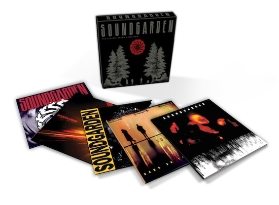 Rogue Mag Music - Soundgarden to release classic album selection box set May 21st