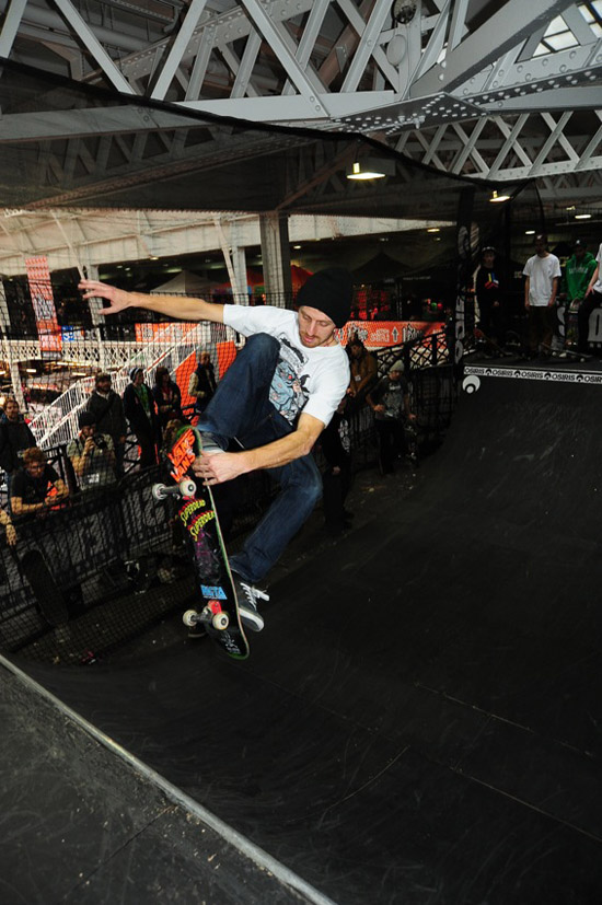 Rogue Mag Skate - Osiris Shoes Presents: The Ledge Mini Ramp Competition