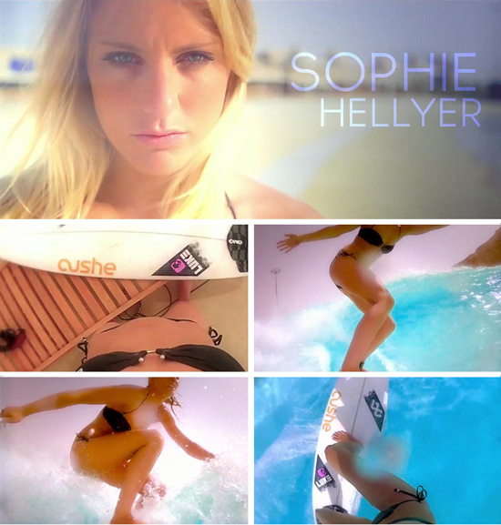 Rogue Mag Surf and Brands - Cushe ambassador Sophie Hellyer surfs Dubai