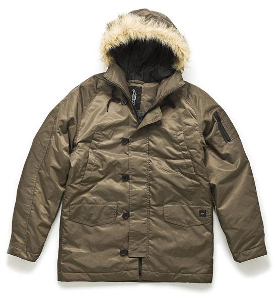 Rogue Mag Brands - Alpinestars Parka Jacket in Brown