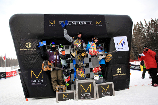 Rogue Mag Snow - Sprint grand prix copper 2013 video highlights - Mens Podium