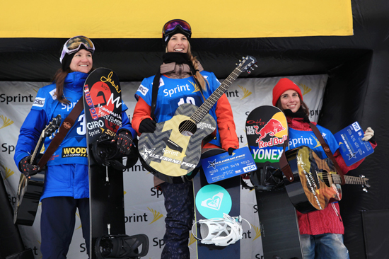Rogue Mag Snow - Sprint grand prix copper 2013 video highlights - Womens Pipe Final