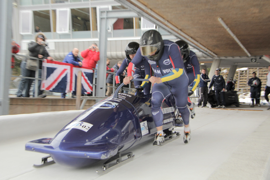 Rogue Mag - Two amateurs take on the British Bobsleigh Championships in Austria